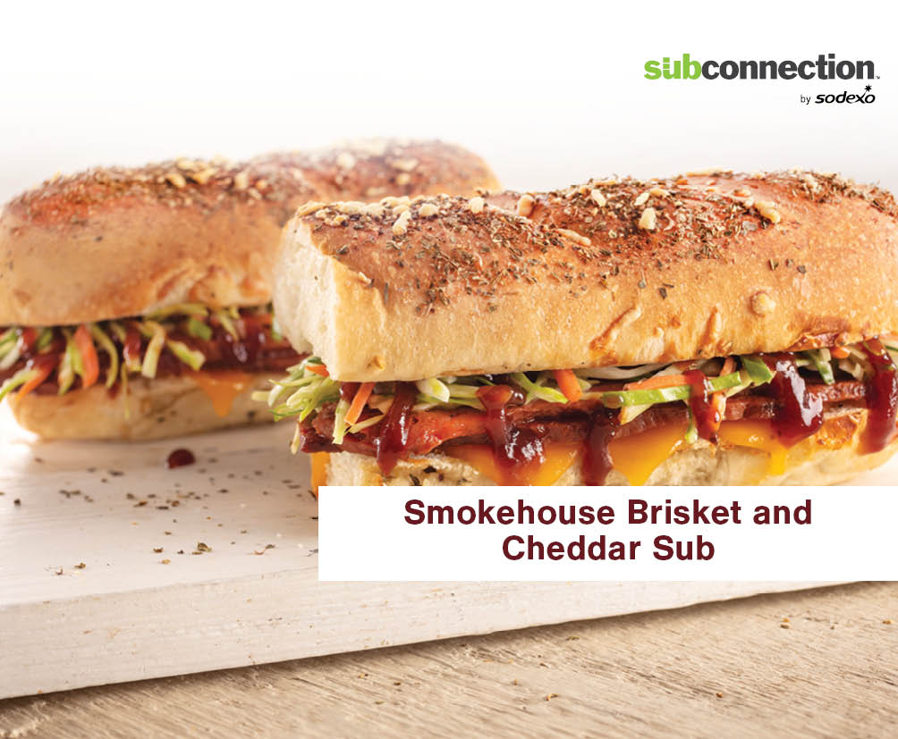 Smokehouse Brisket And Cheddar Sub